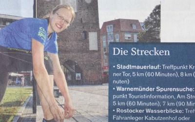 SightRunning Rostock in der NNN